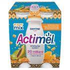 Danone Actimel Mleko fermentowane o smaku papaja-miód-propolis 400 g (4 x 100 g)