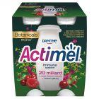 Danone Actimel Mleko fermentowane o smaku żurawina-malina-tymianek 400 g (4 x 100 g)