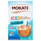 Mokate Iced Coffee Napój kawowy w proszku o smaku czekoladowym 120 g (8 x 15 g)