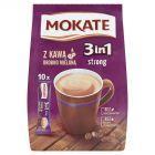 Mokate 3in1 Strong Rozpuszczalny napój kawowy w proszku 170 g (10 x 17 g)