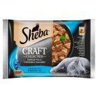 Sheba Craft Collection Karma pełnoporcjowa smaki rybne w sosie 340 g (4 x 85 g)