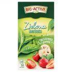 Big-Active Zielona herbata z truskawką i graviolą 30 g (20 x 1,5 g)