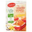 Delecta Z serca natury Muffiny drożdżowe wanilia & jogurt mieszanka do wypieku ciasta 300 g
