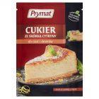 Prymat Cukier ze skórką cytryny do ciast i deserów 15 g