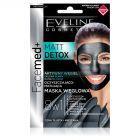 FACEMED Matt Detox oczyszczająco-matująca maska węglowa