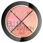 Blush Sensation Paleta róży do modelowania twarzy 4W1