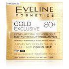 Gold Exclusive Luksusowy odbudowujący krem-serum z 24K złotem 80+ dz/n