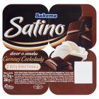 Bakoma Satino Deser o smaku ciemnej czekolady z bitą śmietanką 280 g (4 x 70 g)