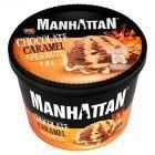 Manhattan Classic Lody czekoladowo-karmelowe z siekanymi prażonymi orzeszkami ziemnymi 1400 ml