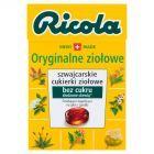 Ricola Szwajcarskie cukierki ziołowe oryginalne ziołowe 27,5 g