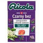 Ricola Szwajcarskie cukierki ziołowe czarny bez 27,5 g