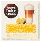 Nescafé Dolce Gusto Latte Macchiato Vanilla Kawa w kapsułkach 188,4 g (8 x 17,55 g i 8 x 6 g)