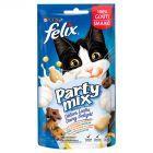 Felix Party Mix Dairy Delight Miks przekąsek o smakach mleka jogurtu sera cheddar 60 g