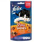 Felix Play Tubes Łakocie o smaku kurczaka i wątróbki 50 g