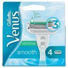 Venus Smooth Sensitive Ostrza wymienne do maszynki do golenia 4 sztuki