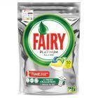 Fairy Platinum All in One Lemon Kapsułki do zmywarki 50 sztuk