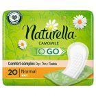 Naturella Plus To Go Wkładki higieniczne, oddzielnie pakowane, x20