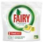 Fairy Original All In One Lemon Tabletki do zmywarki 22 sztuk