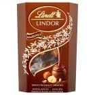Lindt Lindor Pralinki z czekolady mlecznej z kawałkami orzechów laskowych i nadzieniem 200 g