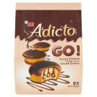 Eti Adicto Go! Ciasto w kakaowej polewie z kremem kakaowym 144 g