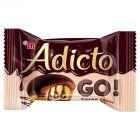Eti Adicto Go! Ciasto w polewie kakaowej z kremem kakaowym 45 g