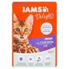 IAMS Delights Karma dla kociąt z kurczakiem 85 g