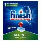 Finish All in 1 Tabletki do mycia naczyń w zmywarce 800 g (50 sztuk)