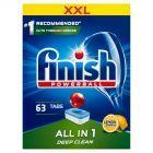 Finish All in 1 Lemon Tabletki do zmywarki 1008 g (63 sztuk)