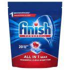 Finish All in 1 Max Tabletki do mycia naczyń w zmywarce 320 g (20 sztuk)
