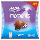 Milka Moments Czekolada mleczna Oreo 92 g (11 sztuk)