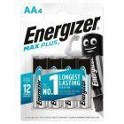 Energizer Max Plus AA-LR6 1,5 V Baterie alkaliczne 4 sztuki