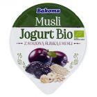 Bakoma Musli Jogurt Bio z suszoną śliwką i musli 180 g