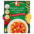 Profi Kurczak w sosie słodko-kwaśnym z ryżem 300 g