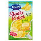 Gellwe Słodki Kubek Kisiel z kawałkami owoców cytryna banan 30 g