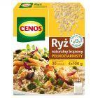 Cenos Ryż naturalny brązowy pełnoziarnisty 400 g (4 torebki)