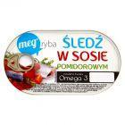 Mega Ryba Śledź w sosie pomidorowym 170 g