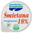 Krasnystaw Śmietana 18% homogenizowana 150 g
