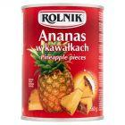 Rolnik Ananas w kawałkach 560 g