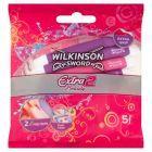 Wilkinson Sword Extra2 Beauty Jednorazowe maszynki do golenia 5 sztuk