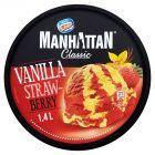 Manhattan Classic Lody waniliowe i lody wodne truskawkowe 1,4 l