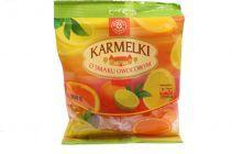 Karmelki twarde o smaku owocowym 100g
