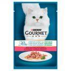 Gourmet Perle Karma dla kotów mini fileciki z pstrągiem w sosie ze szpinakiem 85 g