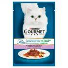 Gourmet Perle Mini fileciki w sosie z warzywami i dziczyzną Karma dla kotów 85 g