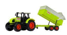 Zabawka - traktor z przyczepą dicki