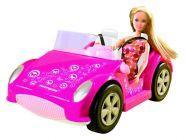 Lalka Morgan w samochodzie