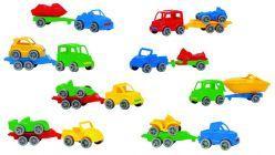 Autka Color Cars mix wzorów
