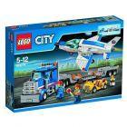 Lego City, klocki Transporter odrzutowca