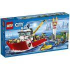 Lego City, klocki Łódź strażacka