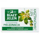 Biały Jeleń Hipoalergiczne mydło naturalne premium z kasztanowcem i lnem 100 g