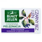 Biały Jeleń Hipoalergiczne mydło naturalne premium z czarnym bzem i lnem 100 g